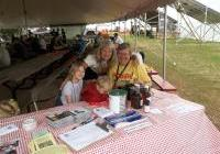 Judy, Nadja, Stefan and Louise at Pancakes for Peace 2012