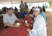 John and Mary Beth at Pancakes for Peace 2012