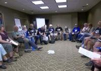 VFP Convention 8/8/13: drone caucus