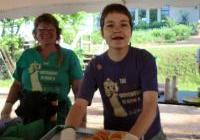 Pancakes for Peace - volunteers from Eagle River