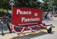 Vets for Peace and FOR  in the Parade - Milton