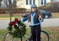 WNPJ peace wreath recipient! Natasha Akulenk - Madison