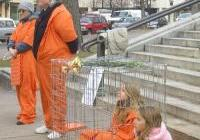 Protest of Guantanamo prisons