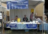 WNPJ's table (with WAVE) at the Energy Fair 2012