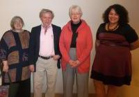 Our awardees at the WNPJ awards reception in La Crosse, October 5, 2013