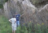 WNPJ Board meeting in Ashland, Aug 2012 - Banded iron formation