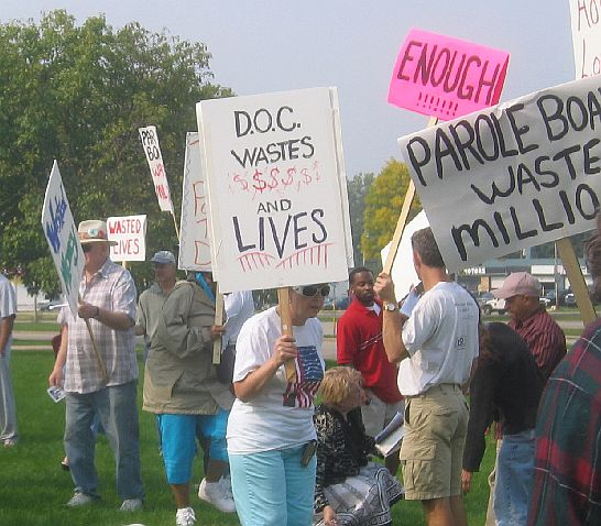 Madison Rally - at the DOC - Prison Justice